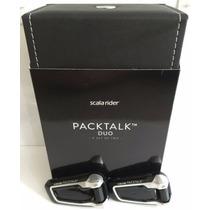 Intercomunicador Cardo Scala Rider Packtalk Duo Lançamento