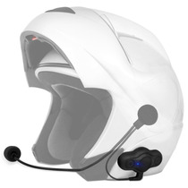 Intercomunicador Bluetooth Moto Capacete Mp3 Gps Unitário