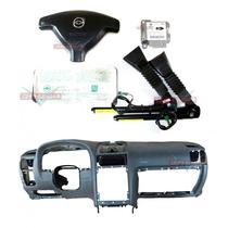 Kit Air Bag Bolsas Cintos Modulo Painel Cinza Gm Astra 05 12