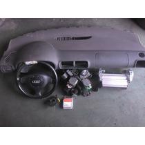 Kit Airbag Completo Audi A3 Bolsas Central Cintos Hard Disk