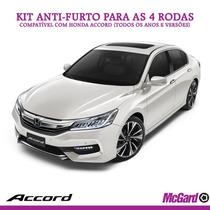 Kit Anti-furto Mcgard P/ Rodas Originais Honda Accord 2016+