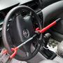 Trava Carneiro Segurança Mult Lock Anti Furto Para Carro
