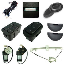 Kit Vidro Eletrico Sensorizado - Escort Zetec 2p/4p Diant
