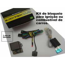 Bloqueador Blocktron Combustivel Ou Ignição + Botão Secreto