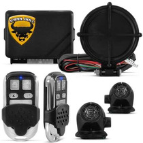 Alarme Automotivo Steel Bull + Travas Elétricas 2 Portas