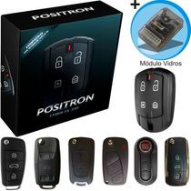 Alarme Automotivo Positron Fx Chave Canivete Modulo Vidro