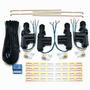 Pacote Com 10 Kits De Trava Elétrica 4 Portas Universal