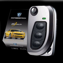 Alarme Automotivo Defender Tech Elite Chave Canivete Carro