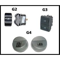 Kit Vidro Elétrico Gol G2 G3 G4 + Alarme Steel Bull Sb-25