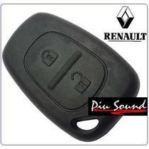 Capa Da Chave Renalt Clio Scenic Controle Do Alarme - Botão