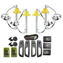 Kit Vidro Eletrico Gol G5 4portas Inteligente