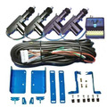 Kit Trava Eletrica Palio Siena 4 Portas Suportes De Fixação