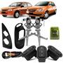 Kit Vidro Eletrico Corsa 95 Em Diante + Modulo Inteligente