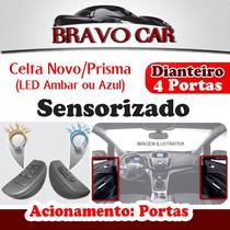 Kit Vidro Elétrico Novo Celta / Prisma 4 Porta Dianteiro Sen