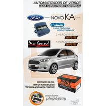 Kit Subida De Vidros Novo Ford Ka 2015 2 Vidros Eletricos