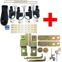 Trava Elétrica Celta E Prisma 4 Portas C/ Suporte Específico