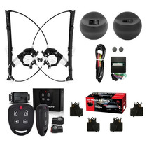 Kit Vidro Elétrico Gol G4 4 Portas + Alarme + Trava Elétrica