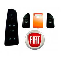 Kit Vidro Elétrico Fiat Punto 4p Traseir Tc Até 2012 Ftse020