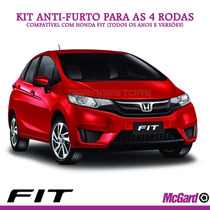 Kit Anti-furto Mcgard P/ Rodas Originais Honda Fit - 24157