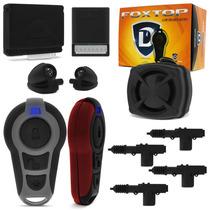 Alarme Defender Tech Fox Controle Universal + Trava 4 Portas