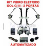 Kit Vidro Eletrico Gol G3 Parati G3 -2 Portas-automatizado