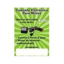Alarme Bloqueador R Antfurto Corta Igniçao Carro E Moto Orig