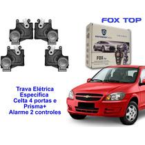 Alarme + Trava Elétrica Prisma - Celta 4 Portas 2006 Diante