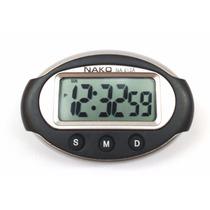 Relógio Automotivo Digital Decorativo Carro Display Alarme