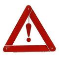 Triangulo P/ Carro - Sinalização De Segurança