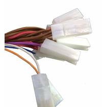 Chicote Conector Botão Vidro Elétrico Gol Quadrado Console