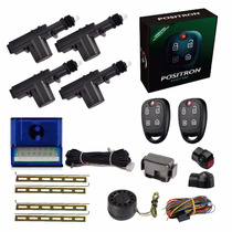 Alarme Positron Automotivo Carro Ex330 2014 Kit Trava Elét 4