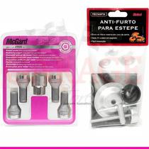 Kit Anti-furto Mcgard P/ Rodas E Estepe - Peugeot 207 Sedan