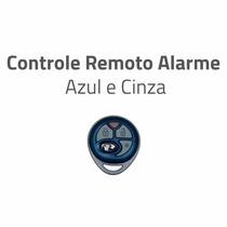 Controle Remoto Alarme Positron Px27 Original Azul E Cinza