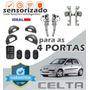 Kit Vidro Elétrico Sensorizado Celta 2005 Para As 4 Portas
