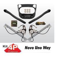 Kit Vidro Eletrico Uno Novo Way Traseiro Sensorizado