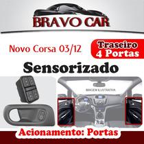 Kit Vidro Elétrico Corsa 4 Portas Traseiro 03 A 12 Sensori