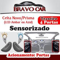 Kit Vidro Elétrico Celta Prisma 4 Portas Traseiro Sensorizad