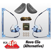 Kit Vidro Eletrico Renault Clio 13 14 4 Portas Dianteiro