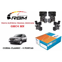 Trava Elétrica Tragial Corsa Classic 4 Portas Gmc4 Mn