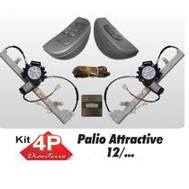 Kit Vidro Eletrico Palio Grand Siena 4p Dianteiro Sensorizad