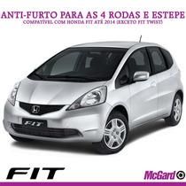Kit Anti-furto Mcgard P/ Rodas E Estepe - Honda Fit Até 2014
