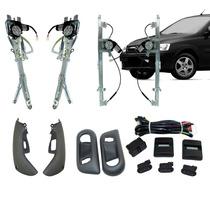 Kit Vidro Eletrico Novo Corsa 4 Portas Completo