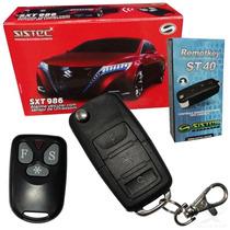 Alarme Carro Universal + Chave Canivete + 1 Controle Sistec