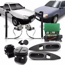 Kit Vidro Eletrico Fiesta 93 A 02 Courrie 98 A 2013 Sensor