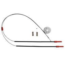 Kit Reparo Vidro Eletrico Golf Até 97 Portas Traseira