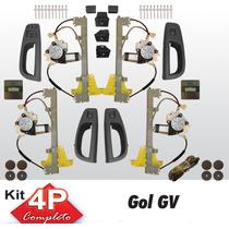 Kit Vidro Eletrico Gol G5 4 Portas Completo Semsorizado