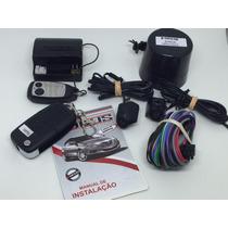 1 Kit Alarme Automotivo Carro Com Chave Canivete + Brinde
