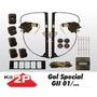 Kit Vidro Eletrico Gol G2 Special 2p Com Antiesmagamento