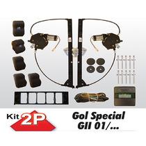 Kit Vidro Eletrico Gol G2 Special 2 Portas Sensorizado
