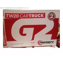 Alarme Taramps Cartruck12/24v Carro Caminhão + Bateria Aux